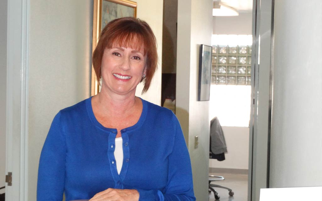 Karrie LaFortune Office manager at Hollander Dental Associates Office in Carlsbad